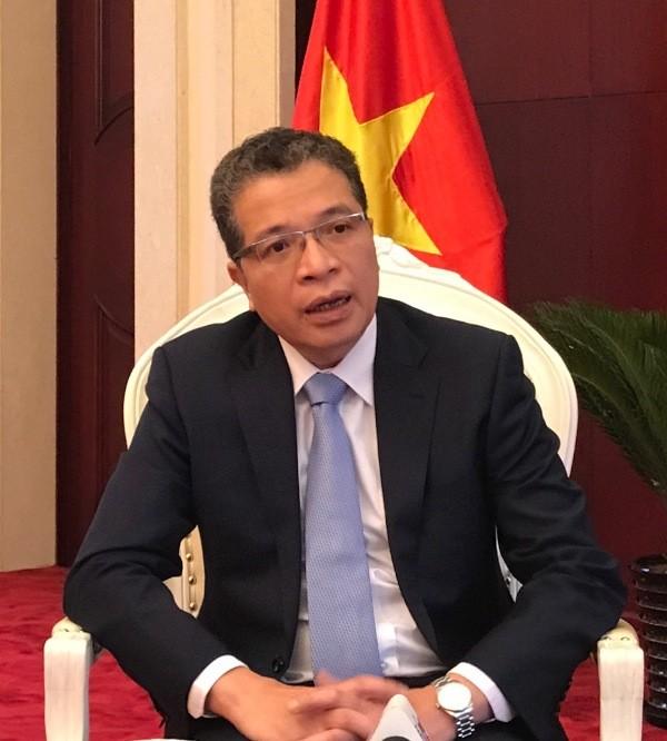 越南驻华大使邓明魁:越南边境四省与中国广西合作机制日益务实有效开展 - ảnh 2