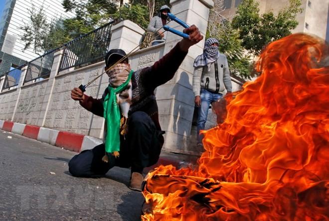 土耳其和巴勒斯坦对美国将大使馆迁到耶路撒冷表示担忧 - ảnh 1