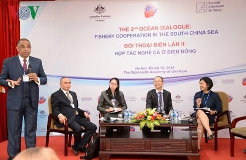 """以""""东海渔业合作""""为主题的第二次海洋对话在河内举行 - ảnh 1"""
