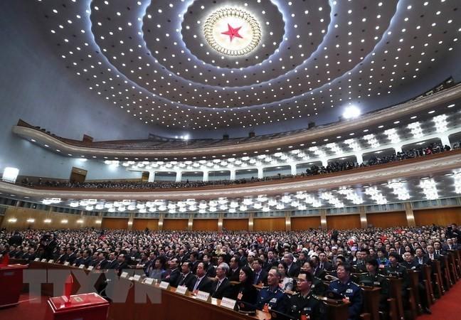 中国十三届全国人大一次会议通过国务院任职人选提名 - ảnh 1