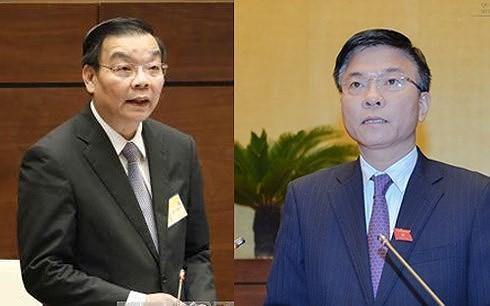 越南国会常委会会议:司法部长黎成龙接受质询 - ảnh 1
