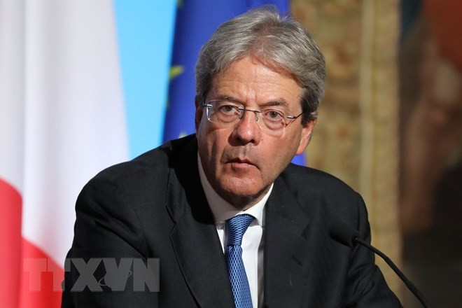 意大利总理真蒂洛尼辞职 - ảnh 1