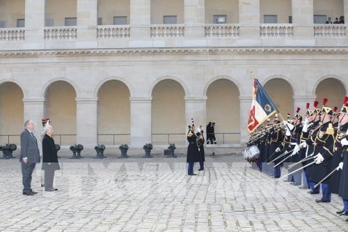 欢迎阮富仲的正式仪式在巴黎举行 - ảnh 1