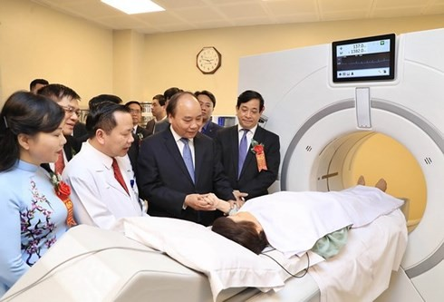 阮春福出席友谊医院成立60周年纪念大会 - ảnh 1