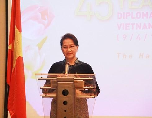 越南-荷兰建交45周年纪念大会在荷兰举行 - ảnh 1