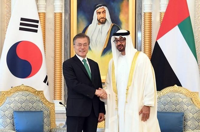 韩国和阿拉伯联合酋长国升格双边关系 - ảnh 1