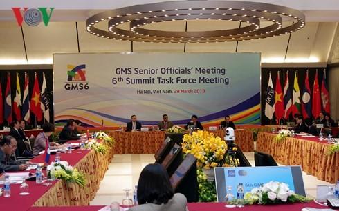 大湄公河次区域高官会在GMS-6前夕举行 - ảnh 1