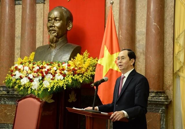 加强越南国家主席与祖国阵线中央委员会主席团工作协调配合 - ảnh 1