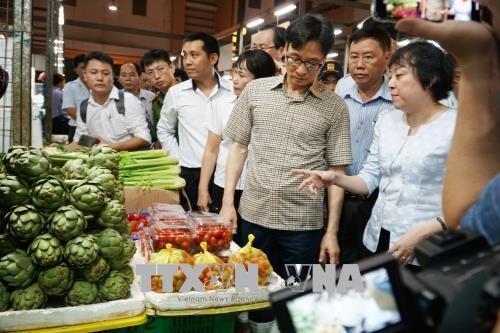胡志明市要努力从食品供应源头管控好食品卫生安全 - ảnh 1
