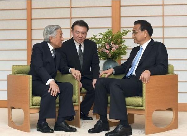 中国国务院总理李克强会见日本天皇明仁 - ảnh 1