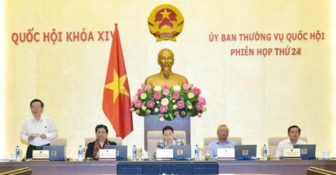 越南国会常委会向《规划法》相关法律修改补充方案提供意见 - ảnh 1