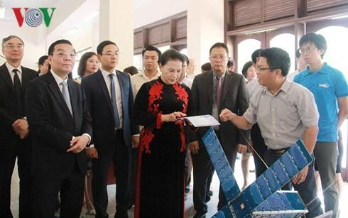 阮氏金银出席越南科技院成立43周年纪念大会 - ảnh 1