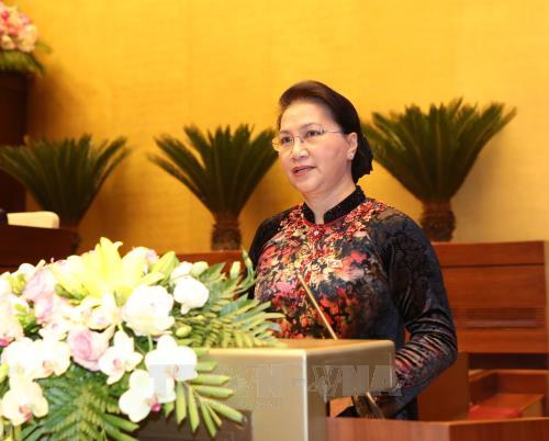 越南第十四届国会第五次会议开幕 - ảnh 1