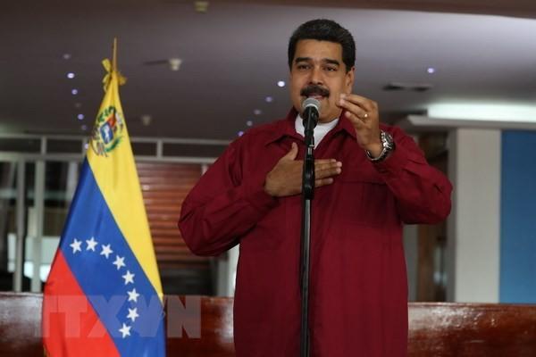马杜罗在委内瑞拉大选中获得连任 - ảnh 1