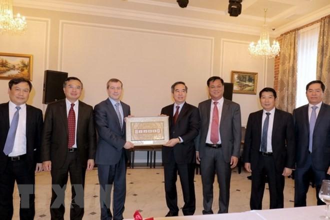 越南积极参与圣彼得堡国际经济论坛各项活动 - ảnh 1