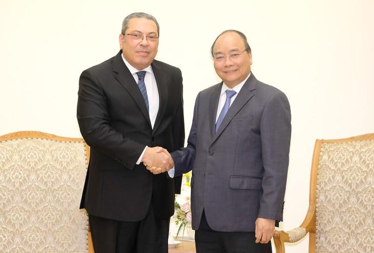 阮春福会见埃及新任驻越大使纳耶尔 - ảnh 1