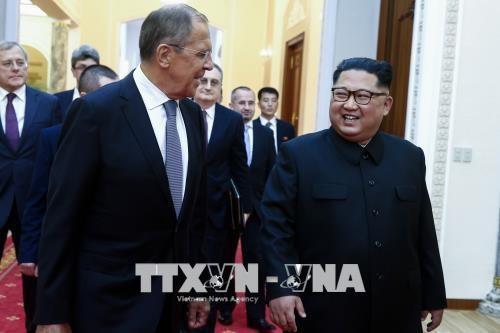 朝鲜领导人金正恩重申分阶段无核化的承诺 - ảnh 1