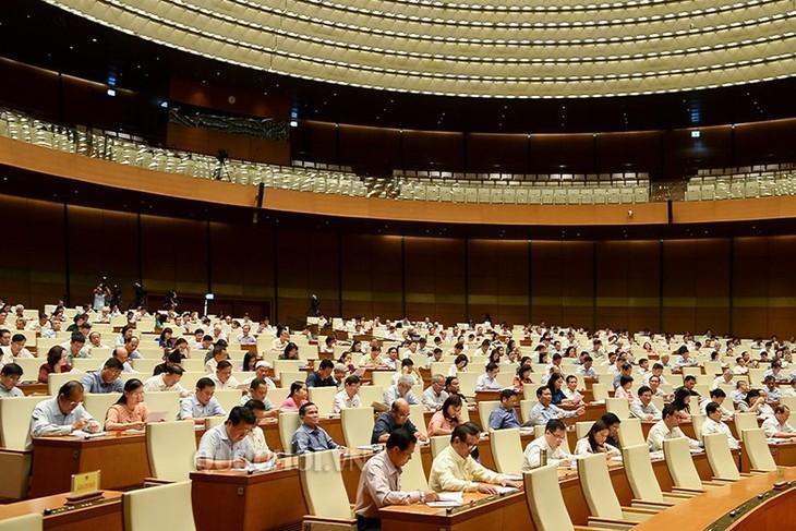 越南国会讨论《规划法》相关法律修订方案 - ảnh 1