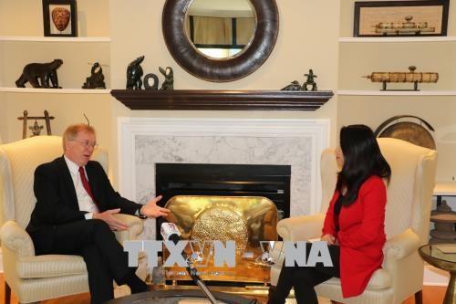 前加拿大驻越大使迪瓦恩:加越关系取得长足发展 - ảnh 1