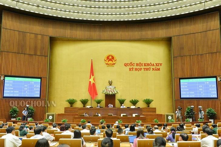 越南第十四届国会第五次会议:进一步加强立法工作 - ảnh 1