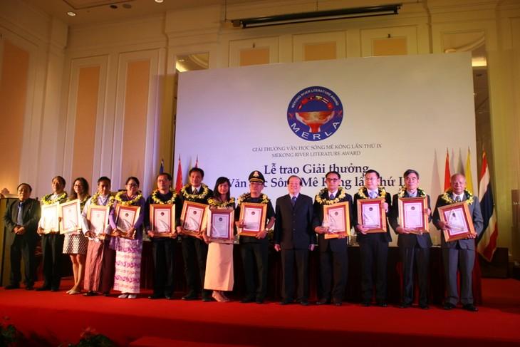 第9届湄公河文学奖颁奖仪式举行 - ảnh 1