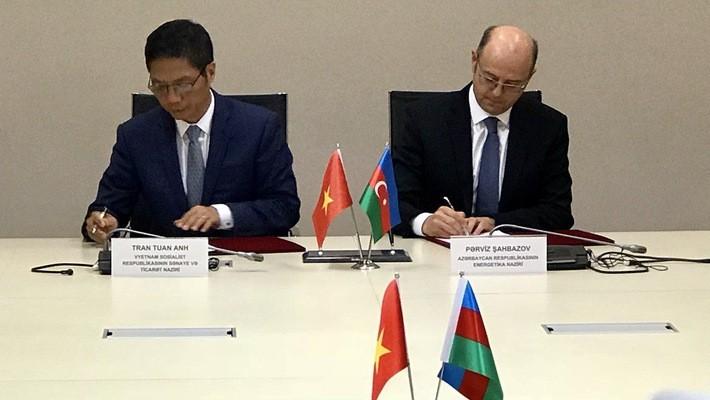 越南和阿塞拜疆政府间联合委员会第二次会议圆满闭幕 - ảnh 1
