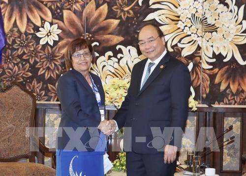 阮春福会见出席全球环境基金第六届成员国大会的各国领导人 - ảnh 2