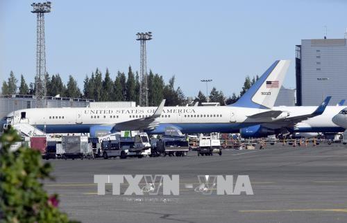 美国军用飞机飞往芬兰 为美俄首脑会晤做准备 - ảnh 1