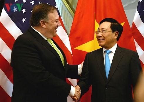 范平明与美国国务卿蓬佩奥举行会谈 - ảnh 1