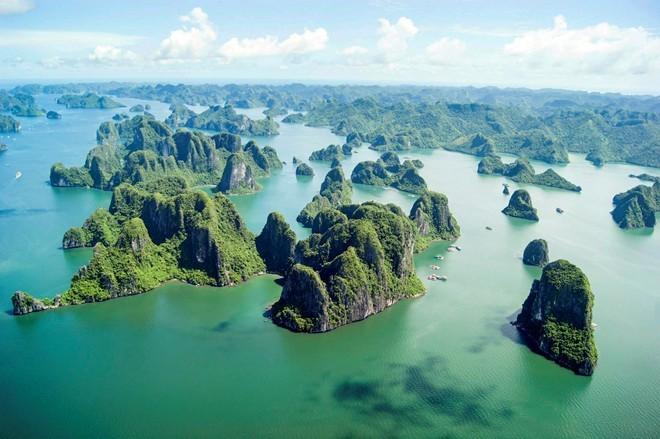 越南下龙湾入选由美国媒体评选的世界最美的一百处遗产名录 - ảnh 1