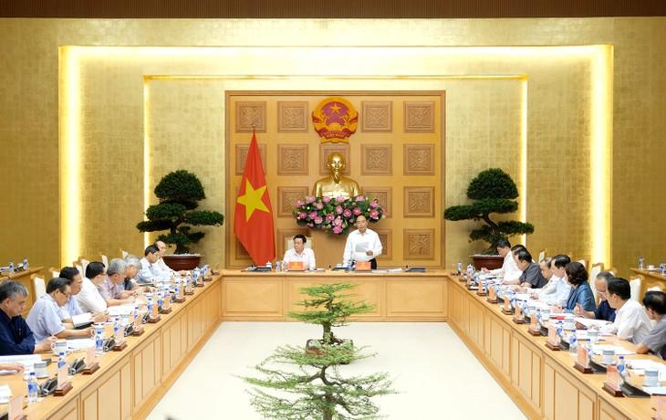 阮春福出席国家金融货币政策咨询委员会会议 - ảnh 1