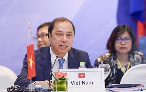 东盟与中日韩和与东亚峰会高官会:争取伙伴方对东盟各项目标的支持 - ảnh 1