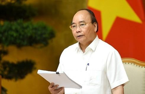 阮春福在重组经济结构、革新增长模式国家指导委员会会议上作总结发言 - ảnh 1