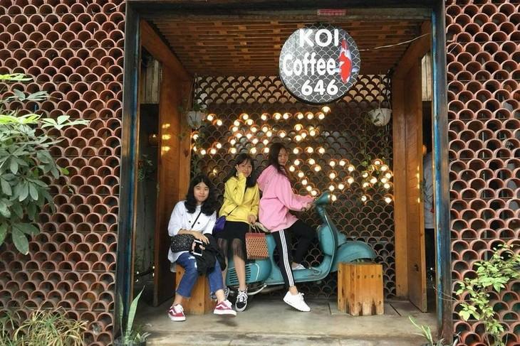 河内唯一一家水疗咖啡馆 - ảnh 1