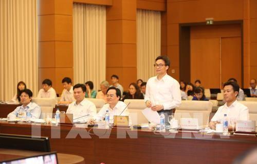 越南国会常务委员会向《种植法(草案)》提供意见 - ảnh 1