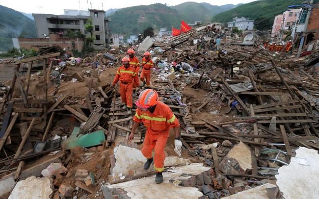 中国云南连续发生十三次地震 - ảnh 1