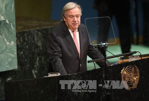 联合国秘书长古特雷斯呼吁加强多边合作解决全球性挑战 - ảnh 1