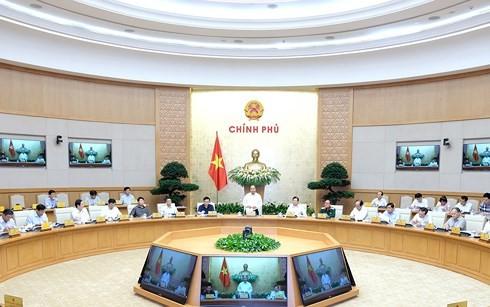 越南政府举行体制建设专题会议 - ảnh 1