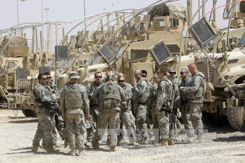 美军称必要时将继续留在伊拉克 - ảnh 1
