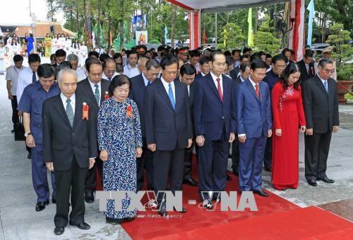 越南前国家主席孙德胜诞辰130周年纪念会举行 - ảnh 1