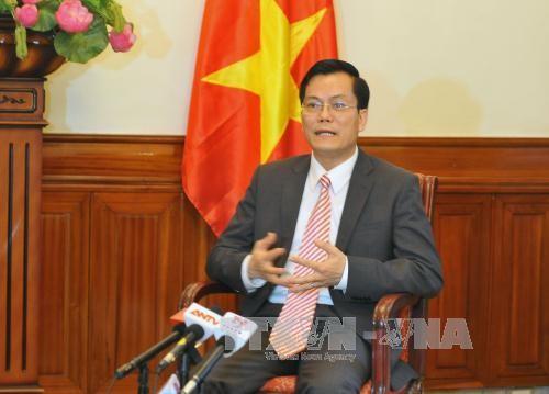 越南驻美大使何金玉:麦凯恩是越美关系的象征 - ảnh 1