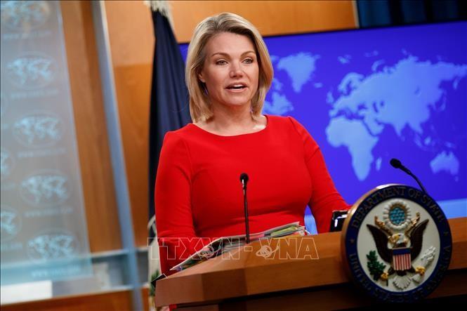 美国强调朝鲜半岛不实现无核化就不会结束战争状态 - ảnh 1