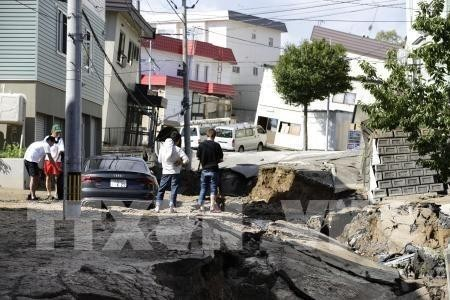 日本地震造成巨大伤亡 - ảnh 1