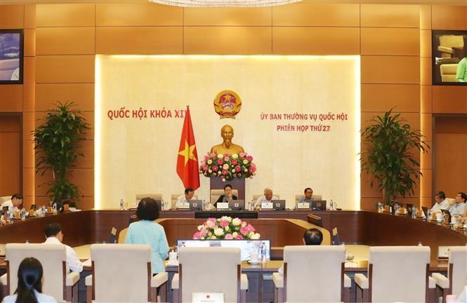 越南第14届国会常委会第27次会议讨论关于减贫目标的76号决议实施情况 - ảnh 1