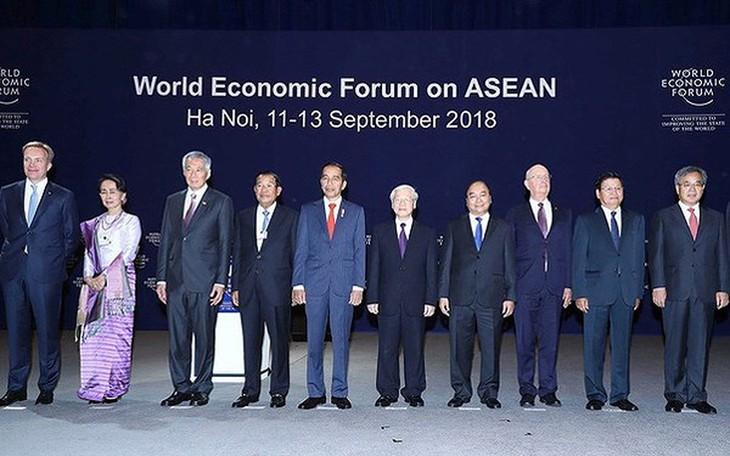 2018年世界经济论坛东盟峰会与越南烙印 - ảnh 1