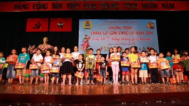 越南各地为儿童举行各种迎中秋活动 - ảnh 1