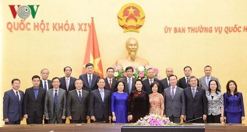 阮氏金银:越南驻外代表机构首席代表要发挥作为越南与世界各国之间的桥梁作用 - ảnh 1