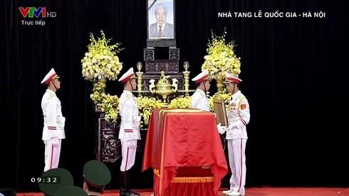 原总书记杜梅追悼会隆重举行 - ảnh 1
