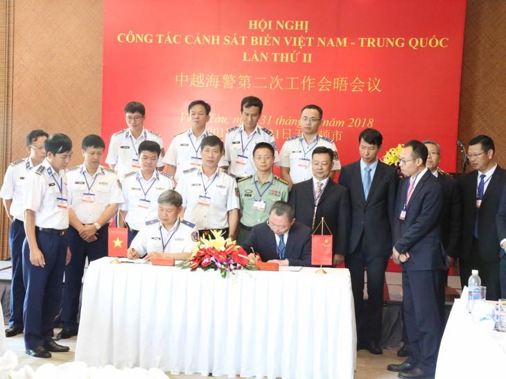 越中海警第二次工作会晤在越南举行 - ảnh 1