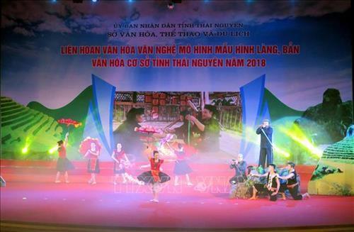 太原省举行基层示范文化村文化艺术节 - ảnh 1